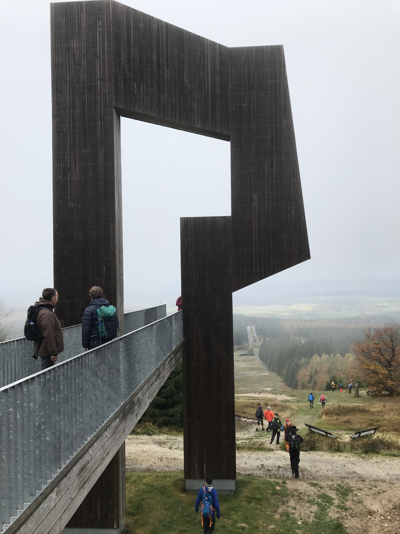 Etappe 10 des Saar-Hunsrück-Steigs Windklang 816 M