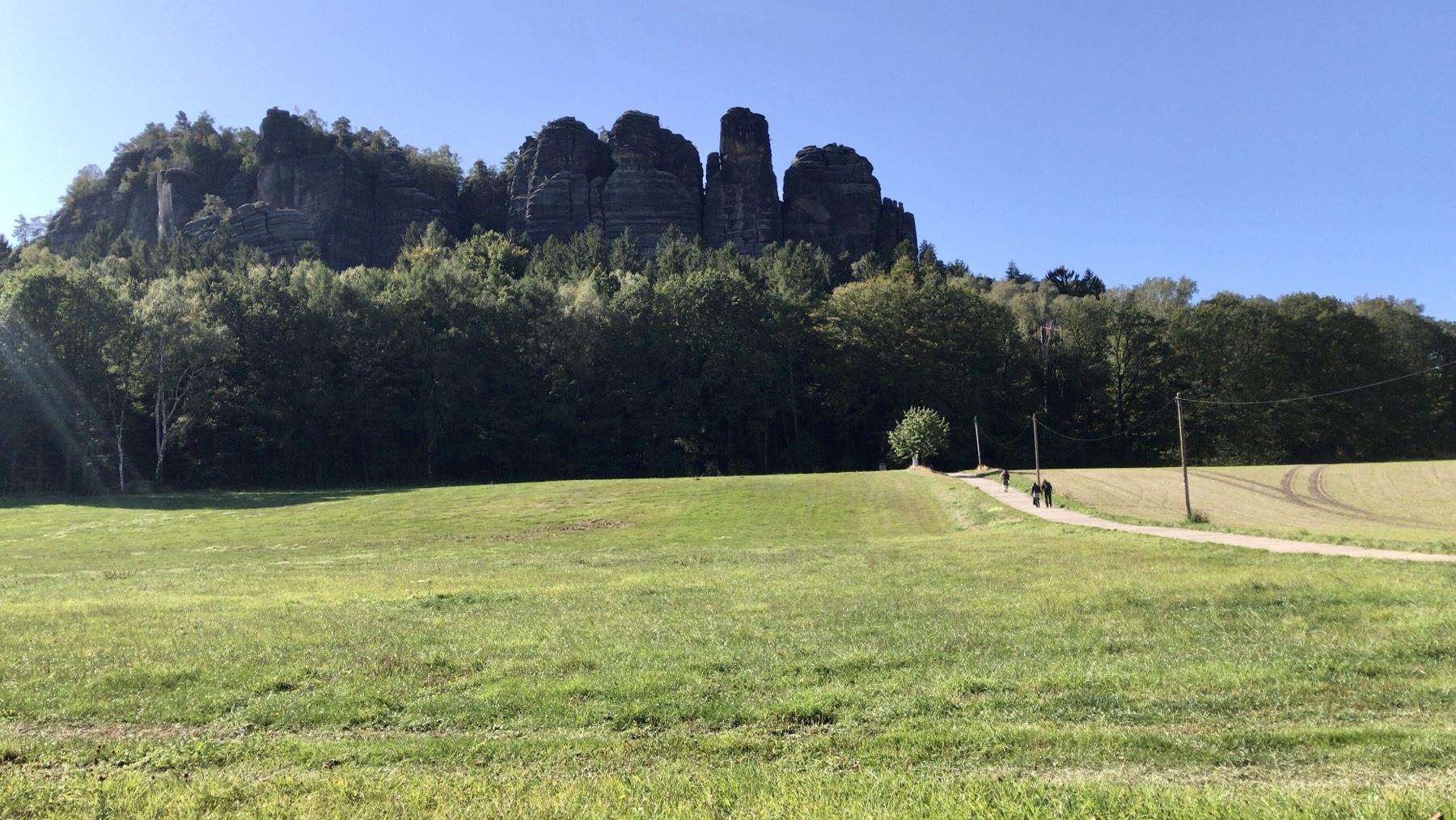 Pfaffenstein, Malerweg Etappe 7, Gohrisch Königstein
