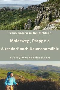 Etappe 4 auf dem Malerweg von Altendorf nach Neumannmühle ist die Königsetappe und zudem eine Traumetappe mit Roomservice, einer klammen Klamm, Schrammen und Affen, Nadeln und Bindfäden und führt auf einem schmalen Grat mit dem Hintern voran Kalinka singend zum größten Kuhstall Europas und Henry Maskes letztem Kampf beim lauthalsen Glücksspiel #malerweg #saechsischeschweiz #deutschland #sachsen #wanderung #fernwanderung #wandern #fernwandern #rucksack #wanderblog #wanderblogger #brandaussicht #schrammsteine #schrammsteinaussicht #affensteine #kuhstall #läuftbeiihr