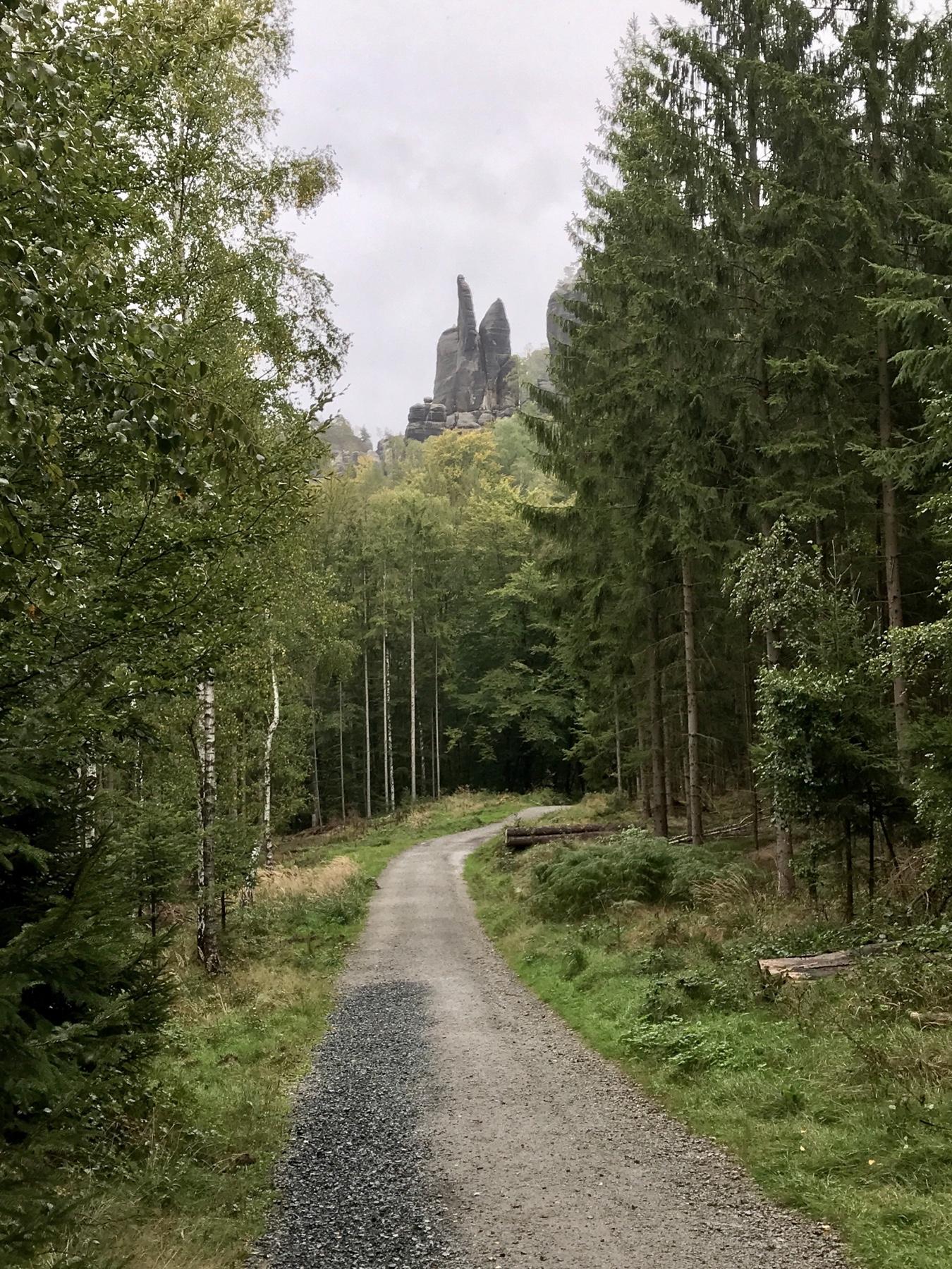 Brosinnadel, Malerweg Etappe 4, Altendorf Neumannmühle