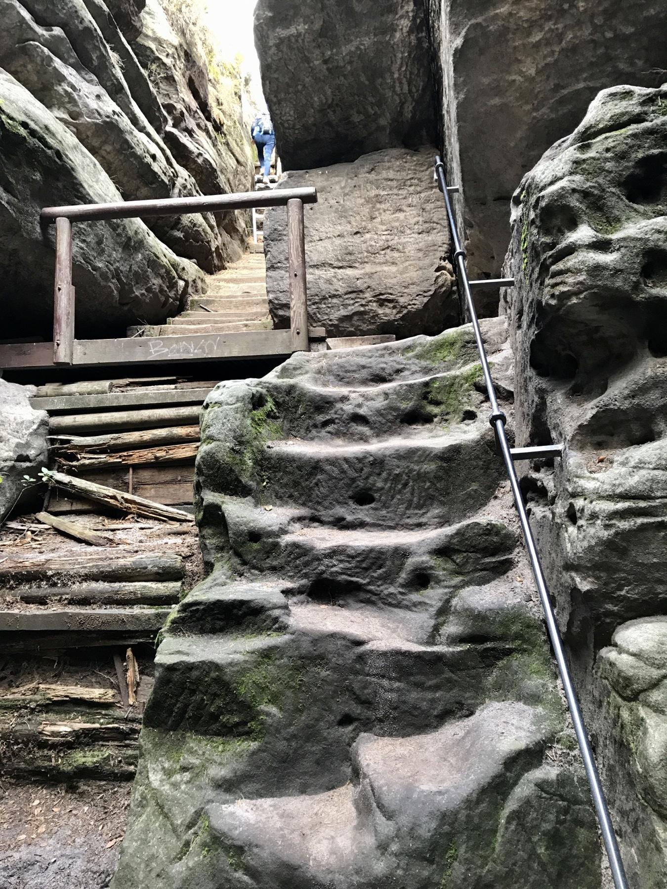 Aufstieg zum Gohrisch, Malerweg Etappe 6