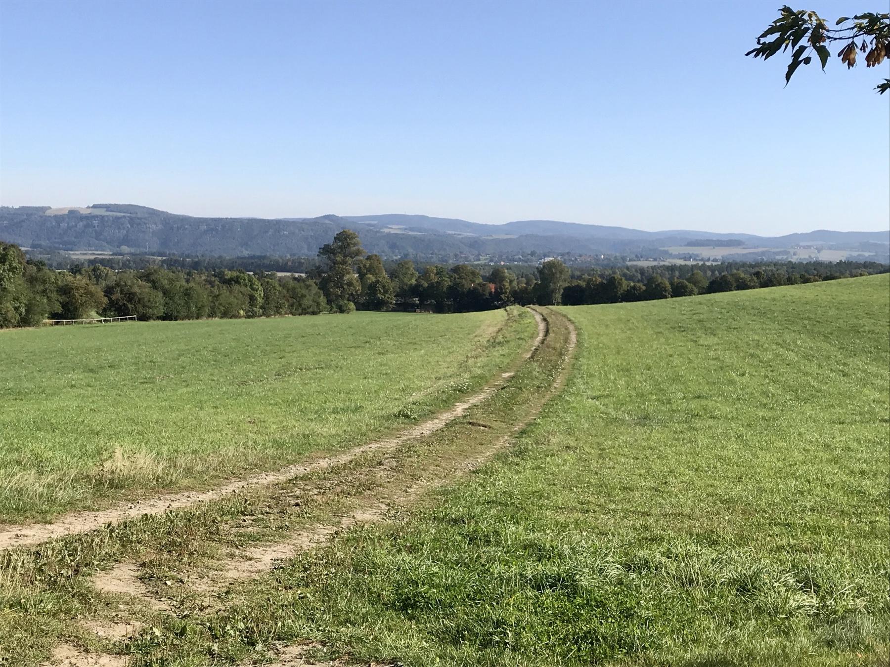 Von Gohrisch zurück auf den Malerweg, Etappe 7 nach Königstein