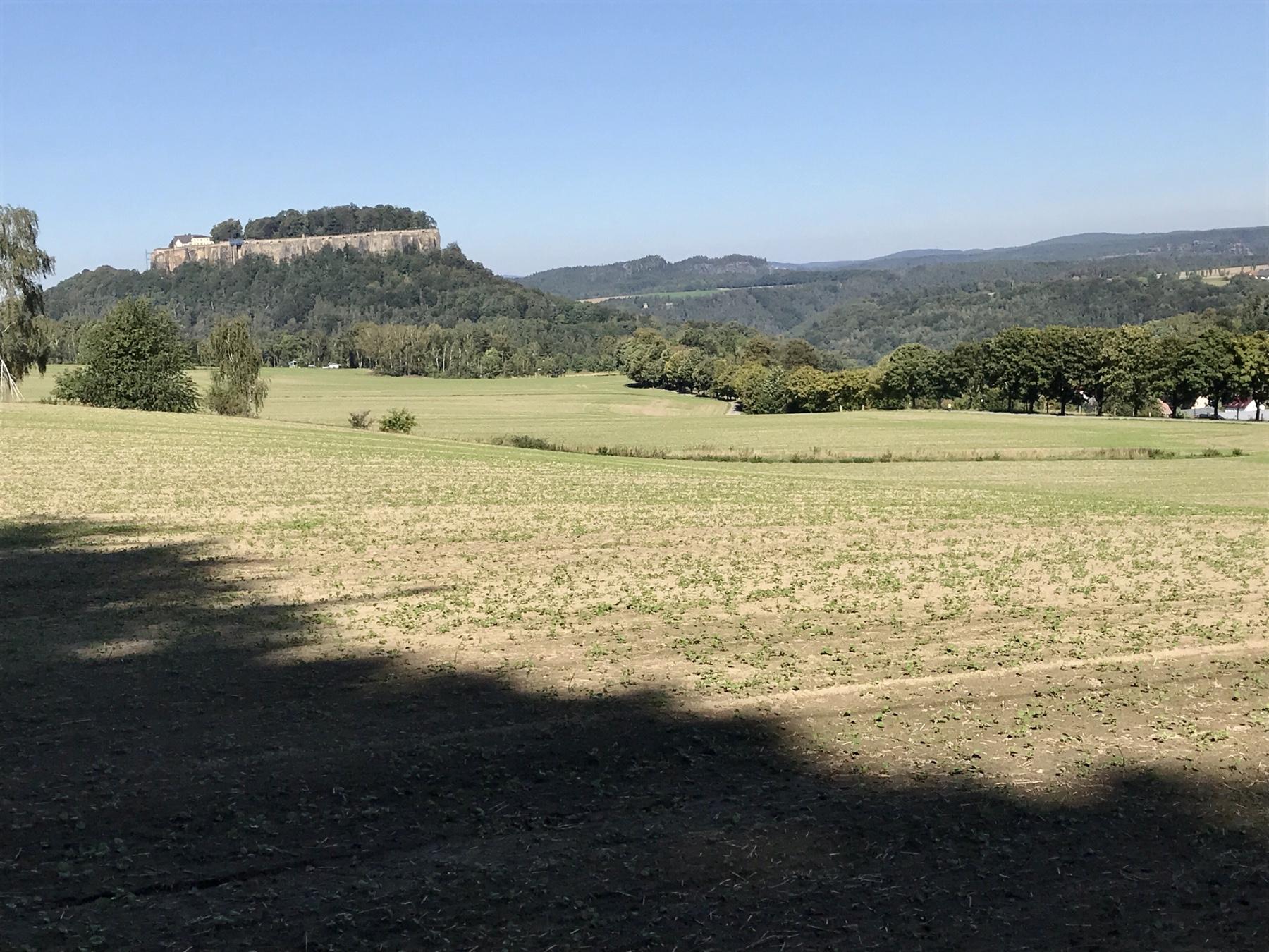 Festung Königstein, Malerweg Etappe 7