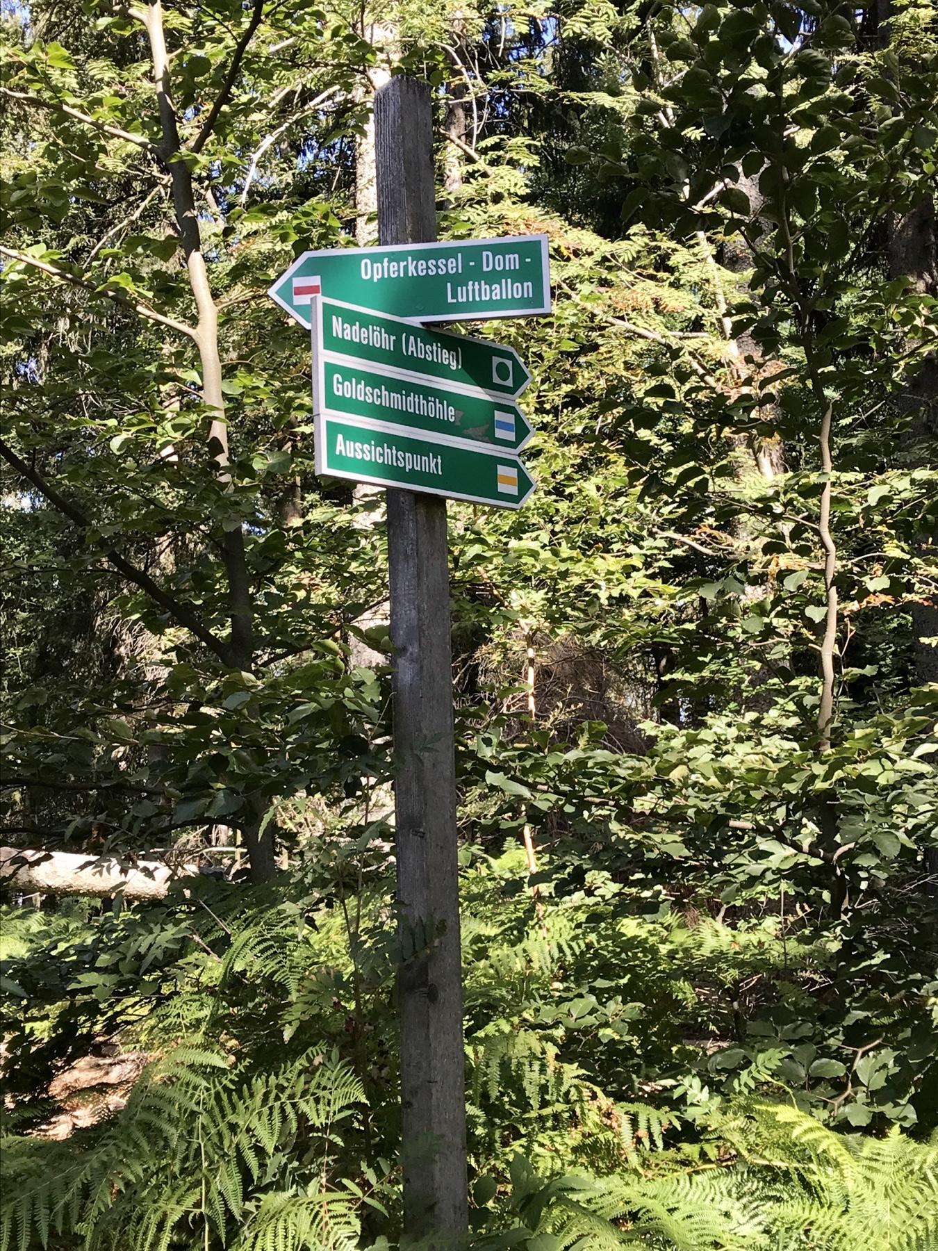 Aussichten am Pfaffenstein, Malerweg Etappe 7