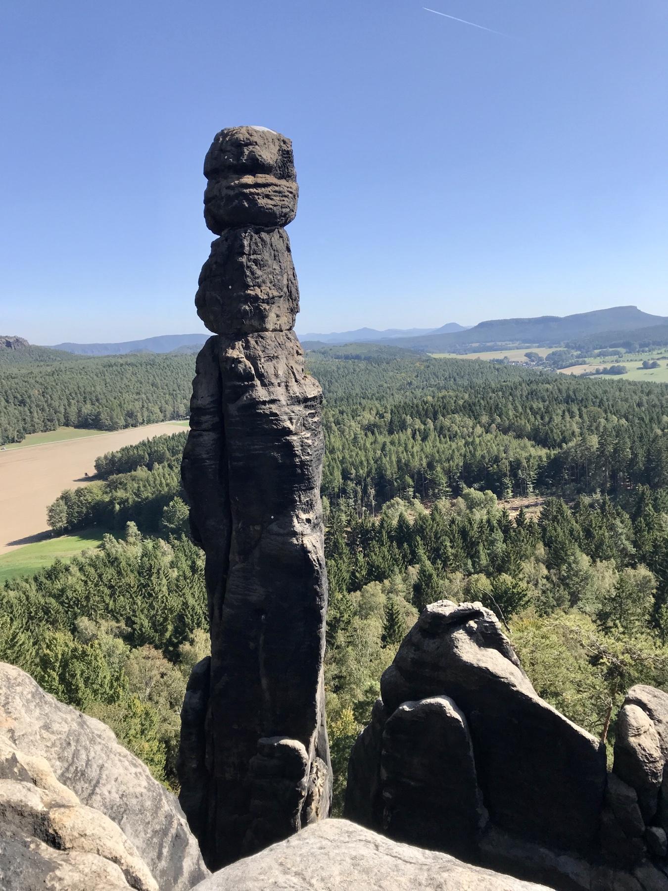 Barbarine, Pfaffenstein, Malerweg Etappe 7