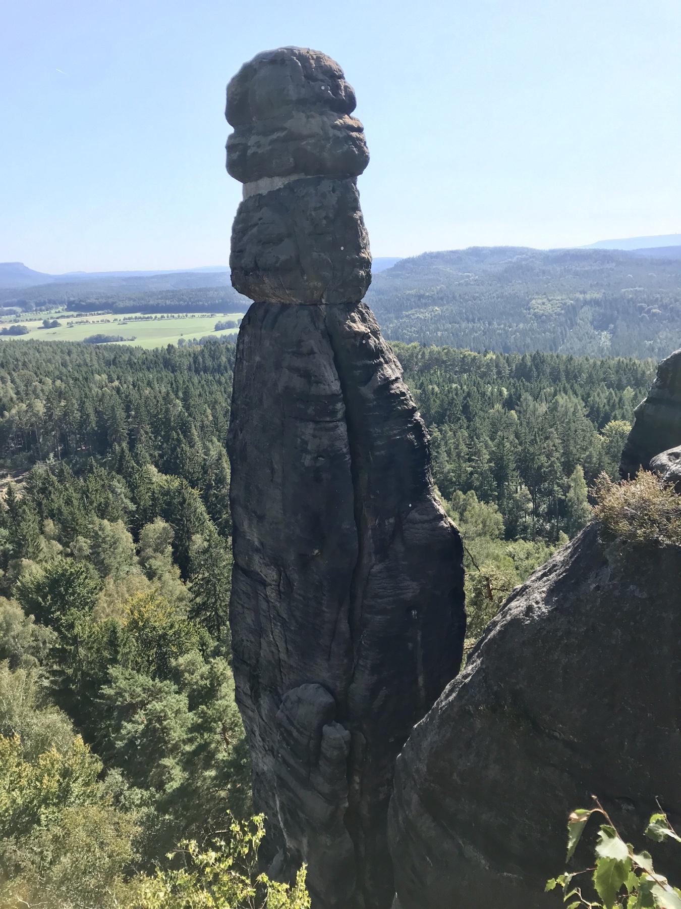 Barbarine, Pfaffenstein, Etappe 7 Gohrisch Königstein, Malerweg