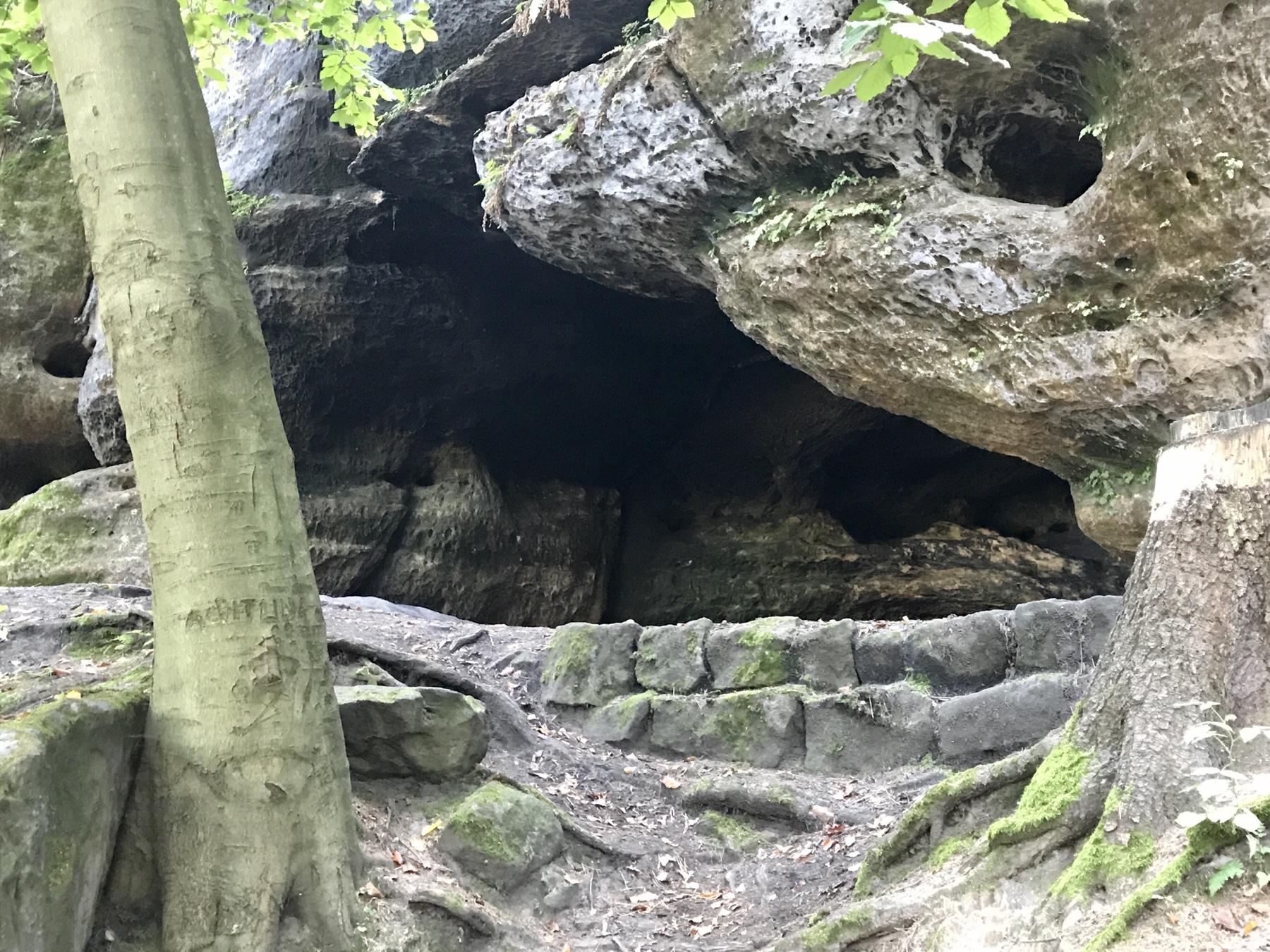 Diebshöhle, Quirl, Malerweg Etappe 7, Gohrisch Königstein