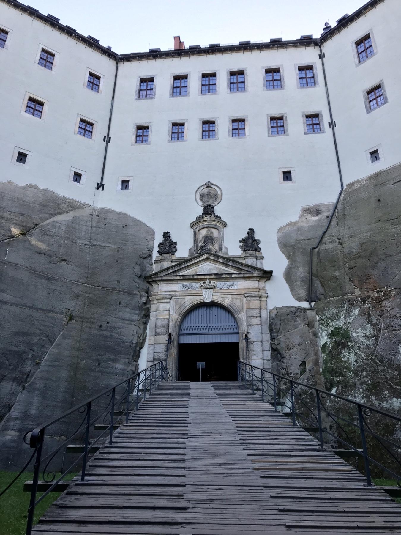 Aufgang Festung Königstein, Malerweg