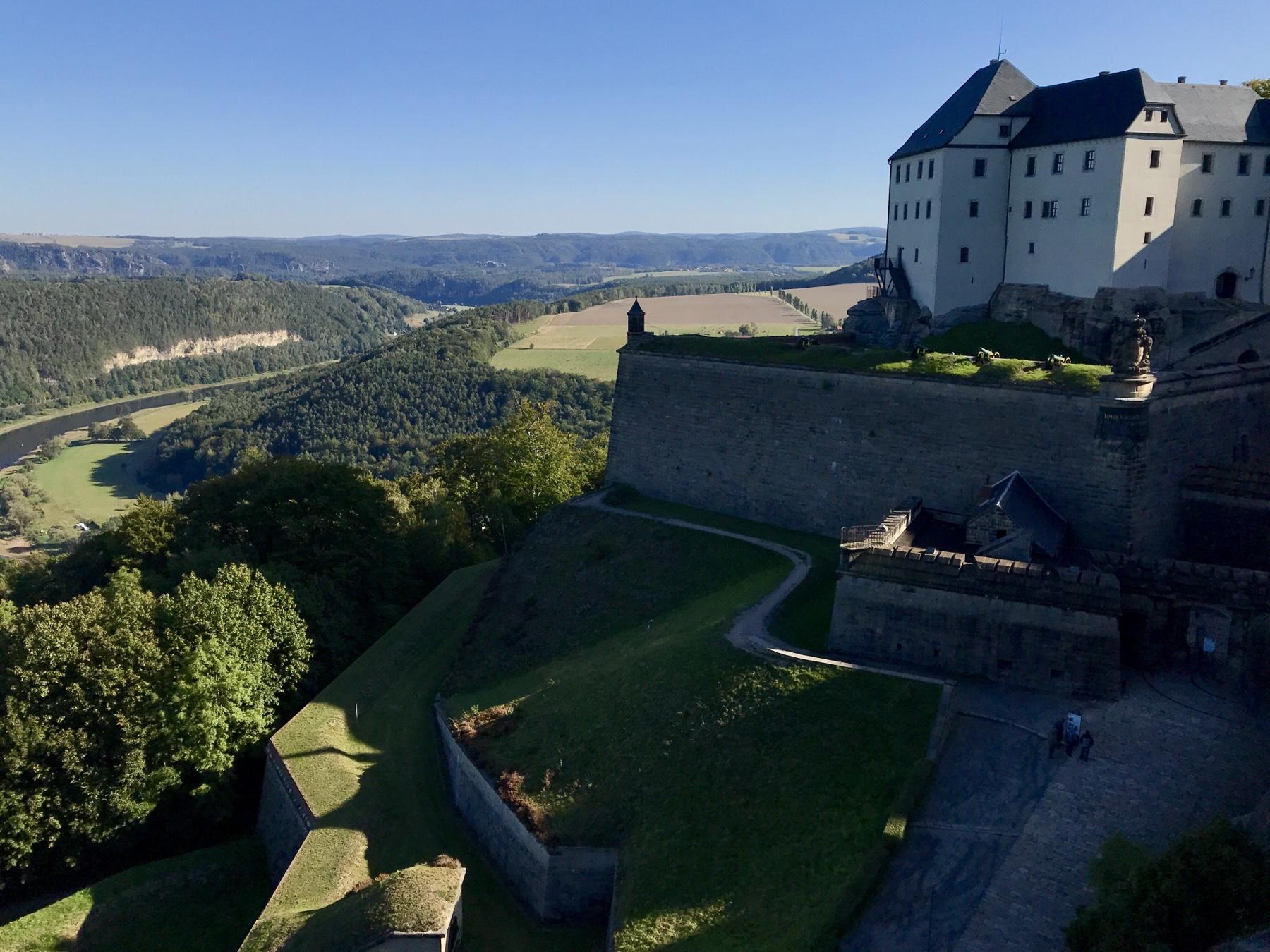 Georgenburg Festung Königstein Malerweg