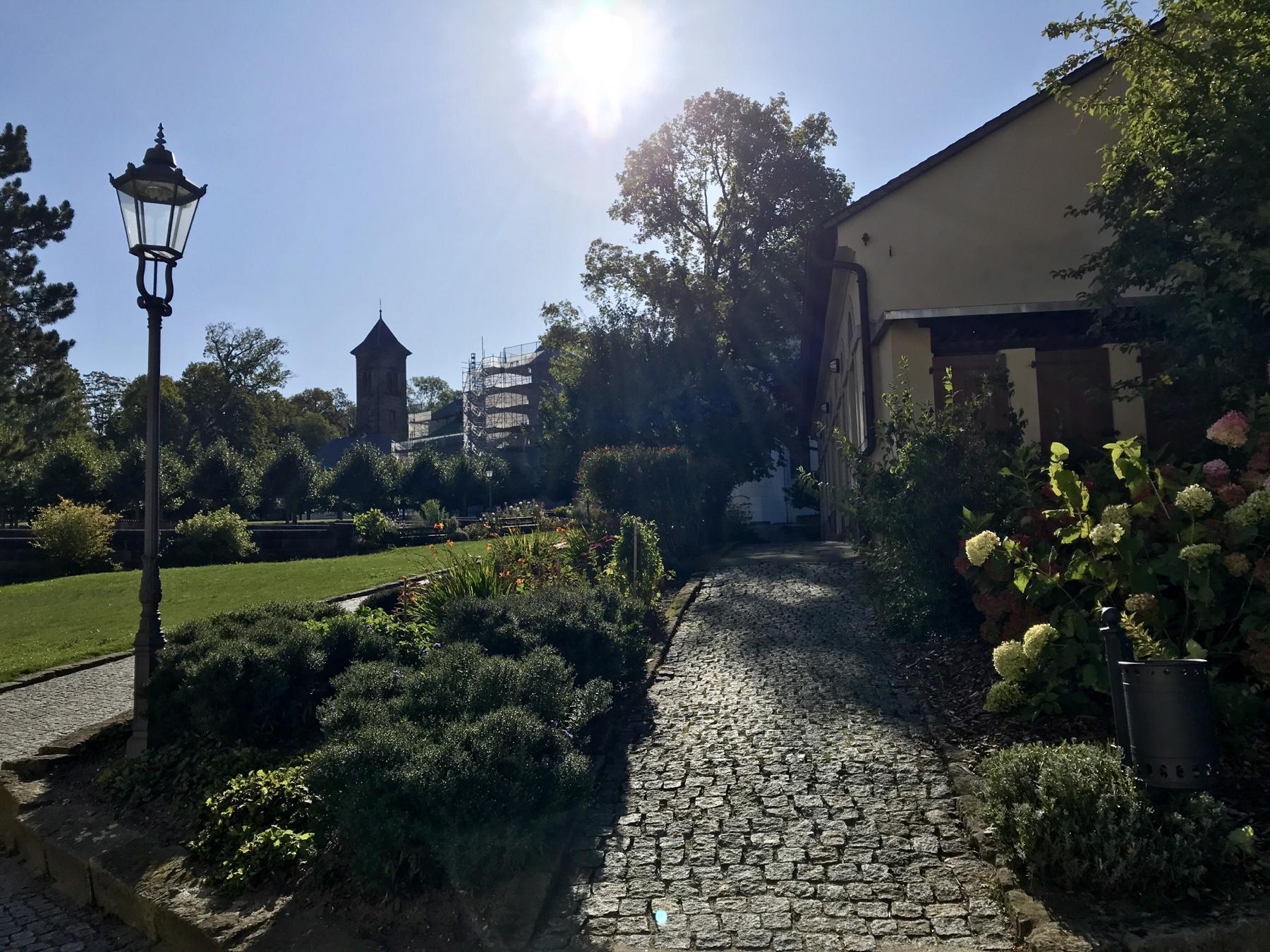 Kommandantengarten, Festung Königstein, Malerweg