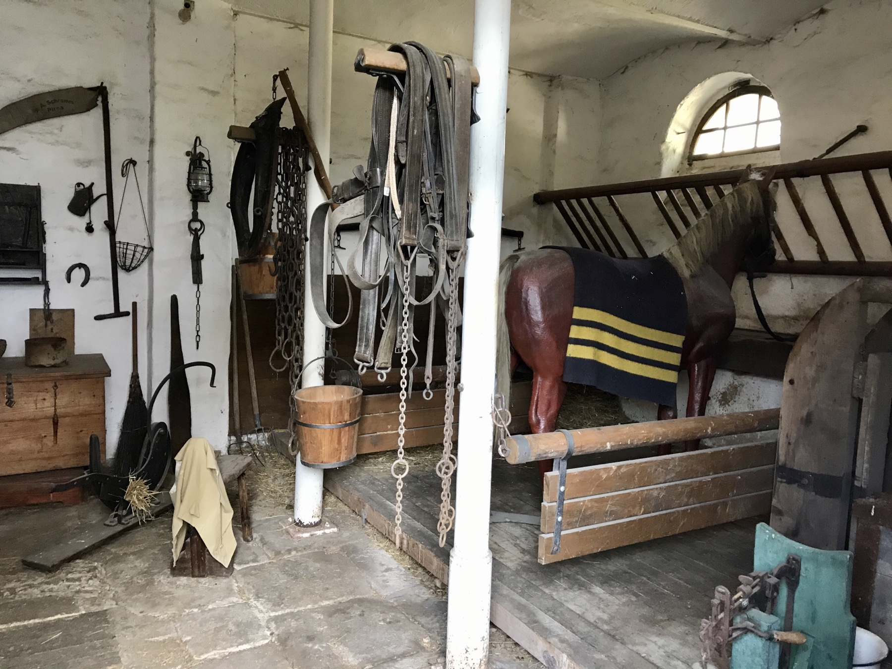 Pferdestall des Kommandanten, Festung Königstein