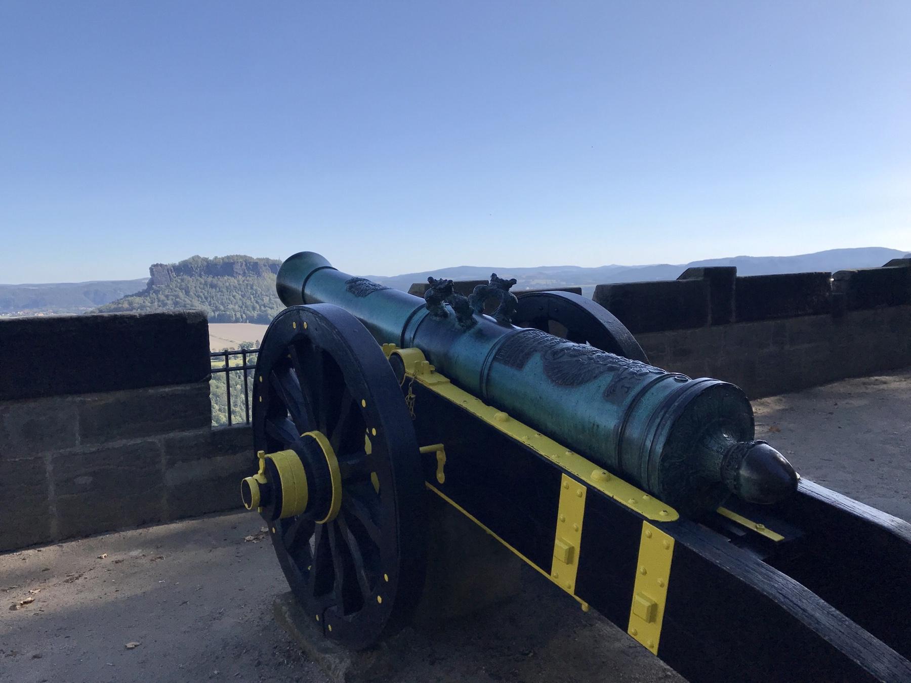 Festung Königstein, Kanonen