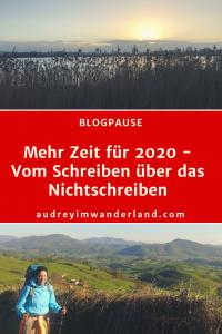Mehr Zeit für 2020 #blog #auszeit #läuftbeiihr