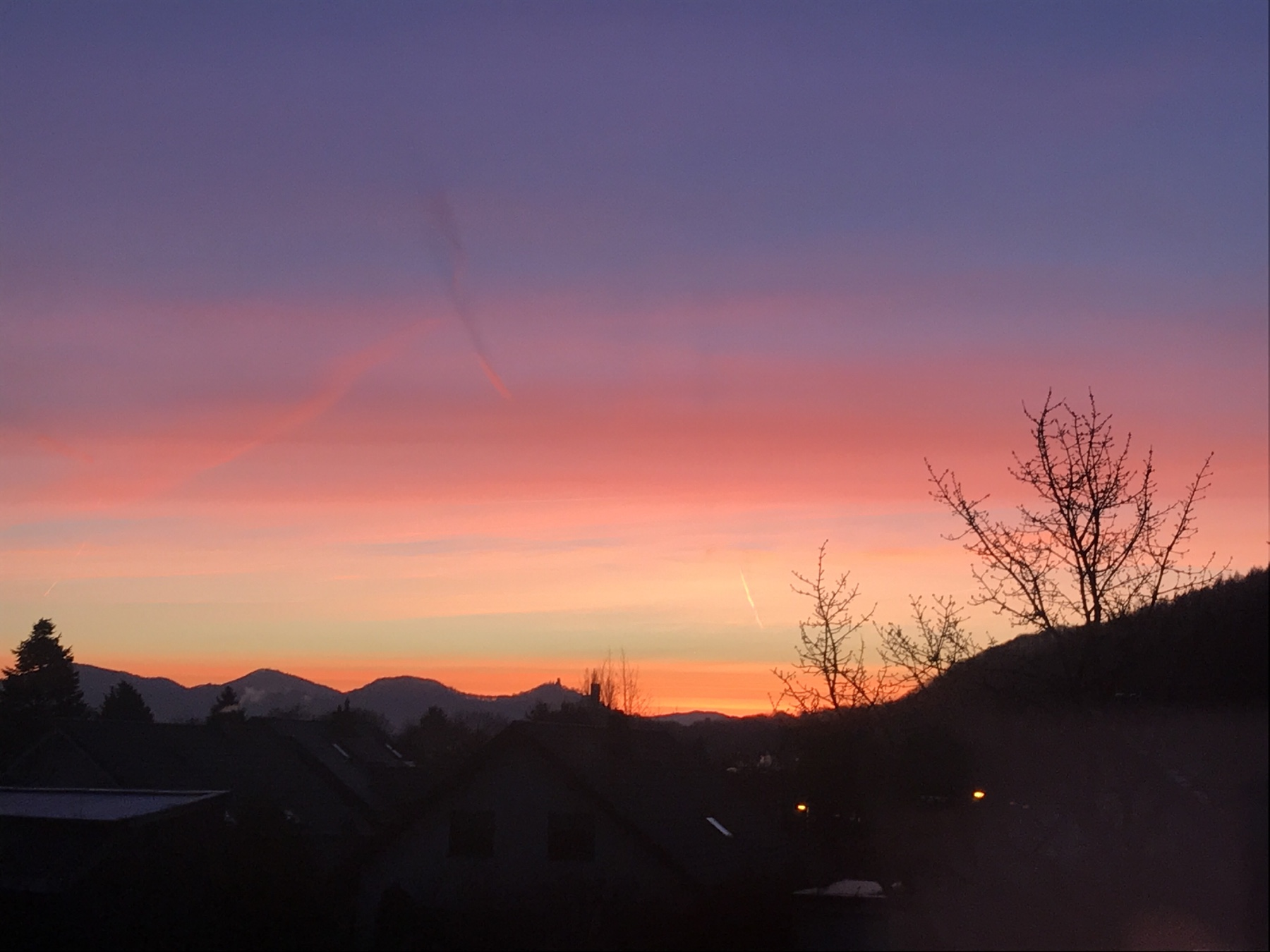 Siebengebirge Sonnenaufgang