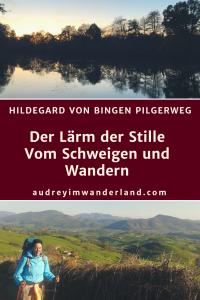 Schweigend laufen oder laufend schweigen? Meiner Wanderung auf dem Hildegard von Bingen Weg werden ein paar Tage Schweigeexerzitien vorausgehen. Wie fühlt sich tagelange Stille an? Was macht sie mit dir? Ich werde es herausfinden. #hildegardvonbingenweg #schweigexerzitien #stille #schweigen #ruhe #wandern #fernwandern #hildegard-von-bingen-weg #idaroberstein #bingen