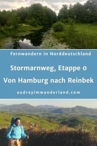 Auftakt zum Weitwandern in Norddeutschland. Meine selbstgebastelte Etappe 0 von Hammerbrook nach Reinbek #deutschland #stormarn #schleswigholstein #wandern #fernwandern #wanderblog #läuftbeiihr