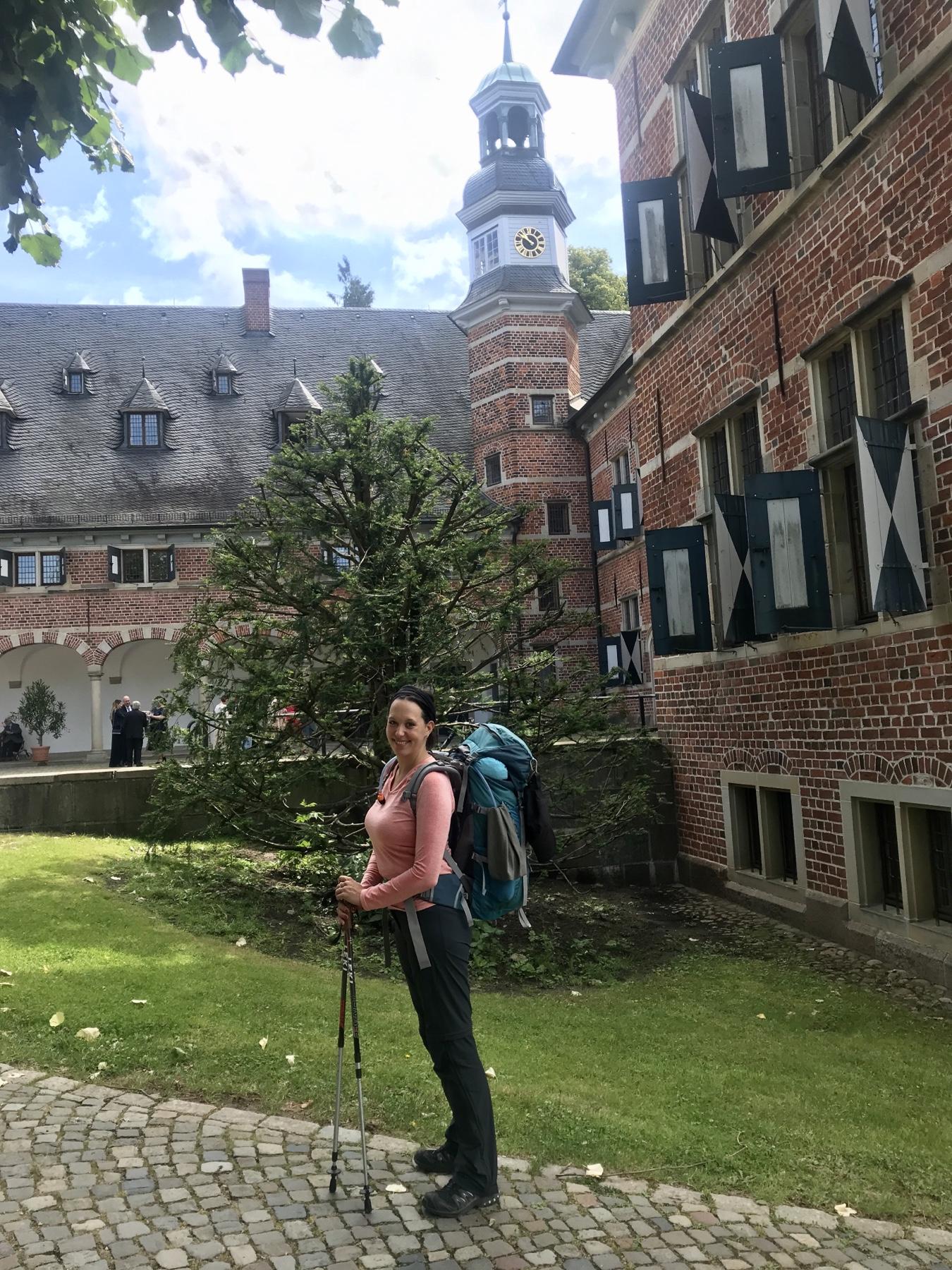 Stormarnweg Etappe 1 Start Schloss Reinbek