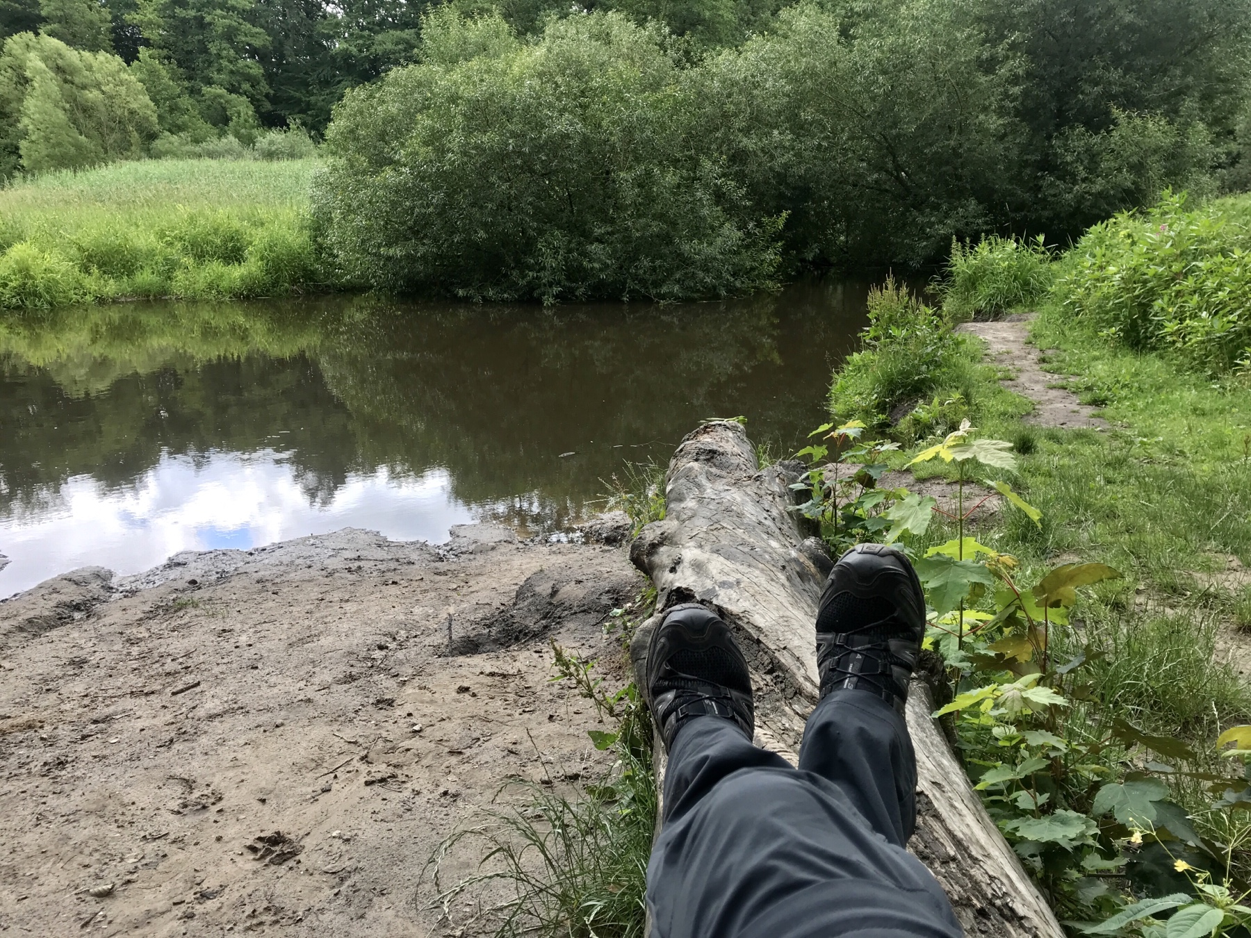 Päuschen an der Bille, Stormarnweg Etappe 1 Reinbek Großensee