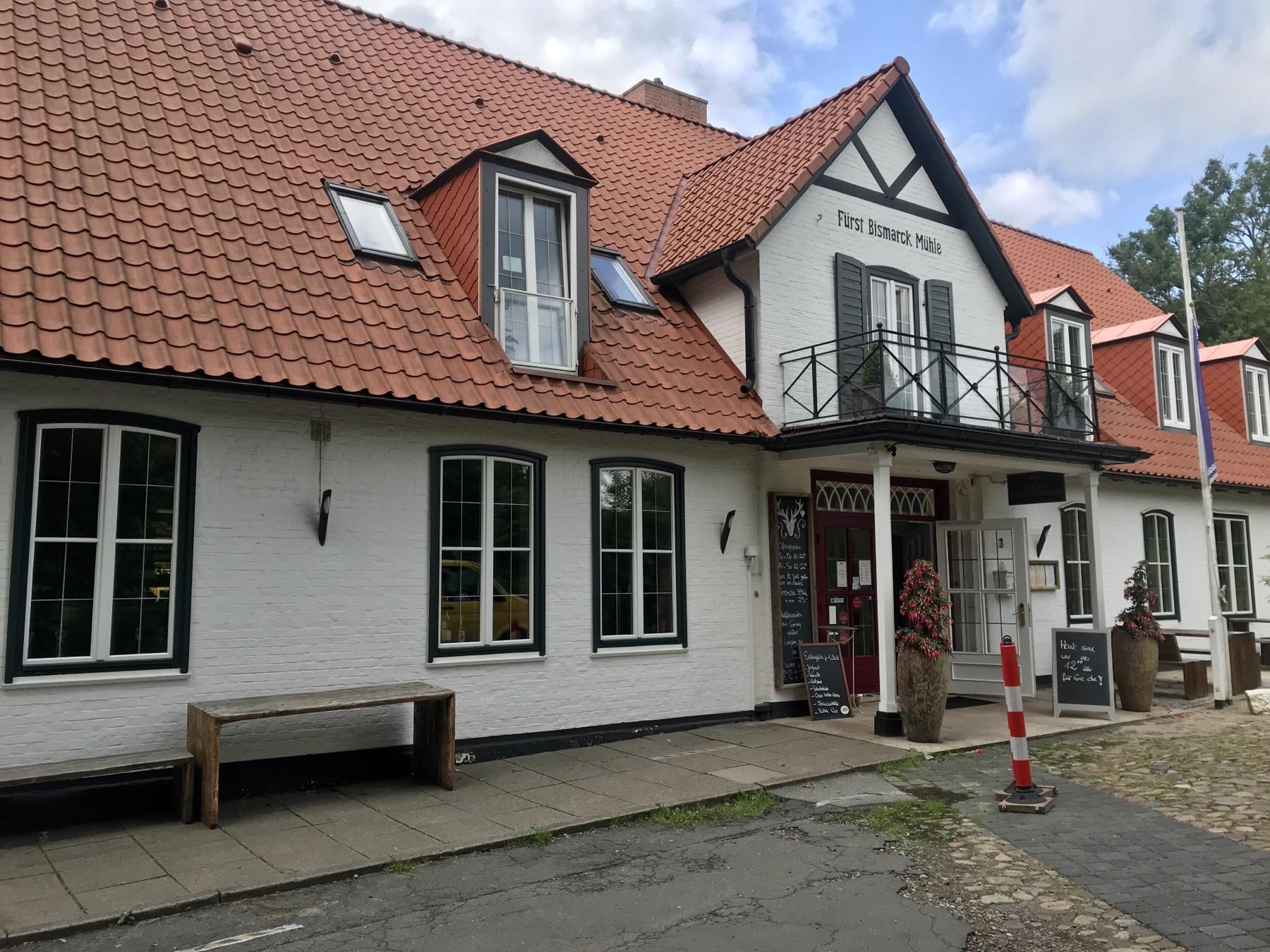 Die Bismarck Mühle in Aumühle Stormarnweg Etappe 1 Reinbek Großensee
