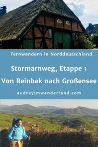 Weitwandern in Norddeutschland, Etappe 1 auf dem Stormarnweg von Reinbek nach Großensee #deutschland #stormarn #schleswigholstein #wandern #fernwandern #wanderblog #läuftbeiihr