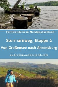 """""""Weitwandern in Norddeutschland, Etappe 2 auf dem Stormarnweg von Großensee nach Ahrensburg #deutschland #stormarn #schleswigholstein #wandern #fernwandern #wanderblog #läuftbeiihr"""