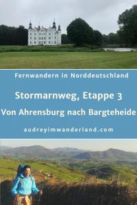 Etappe 3 auf dem Stormarnweg von Ahrensburg nach Bargteheide geht vor allem schnurgeradeaus #deutschland #wandern #fernwandern #weitwandern #wanderblog #schleswigholstein #stormarn #norddeutschland #läuftbeiihr