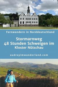 Schweigeauszeit im Kloster Nütschau. Ich unterbreche meine Wanderung auf dem #Stormarnweg und versuche mich an 48 Stunden Schweigen im Kloster Nütschau #schweigeauszeit #kloster #nütschau #schleswigholstein #stormarn #wandern #läuftbeiihr
