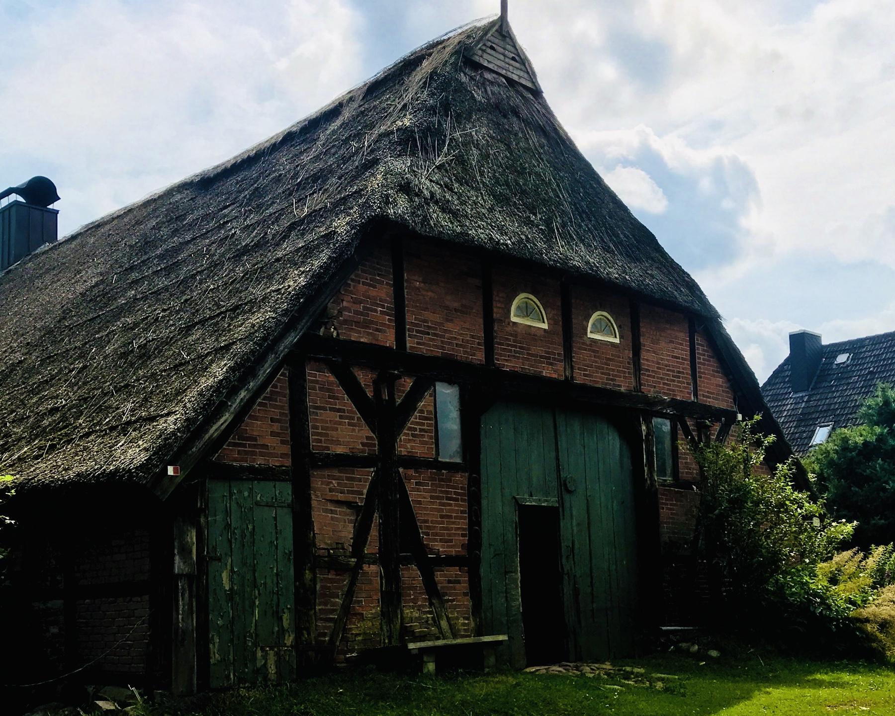 Schönste Scheune des auf dem Stormarnweg in Rausdorf