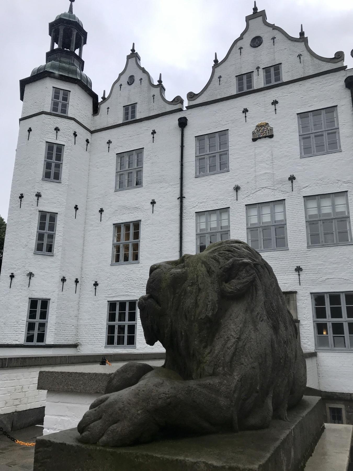 Schloss Ahrensburg, Stormarnweg Etappe 3 nach Bargteheide