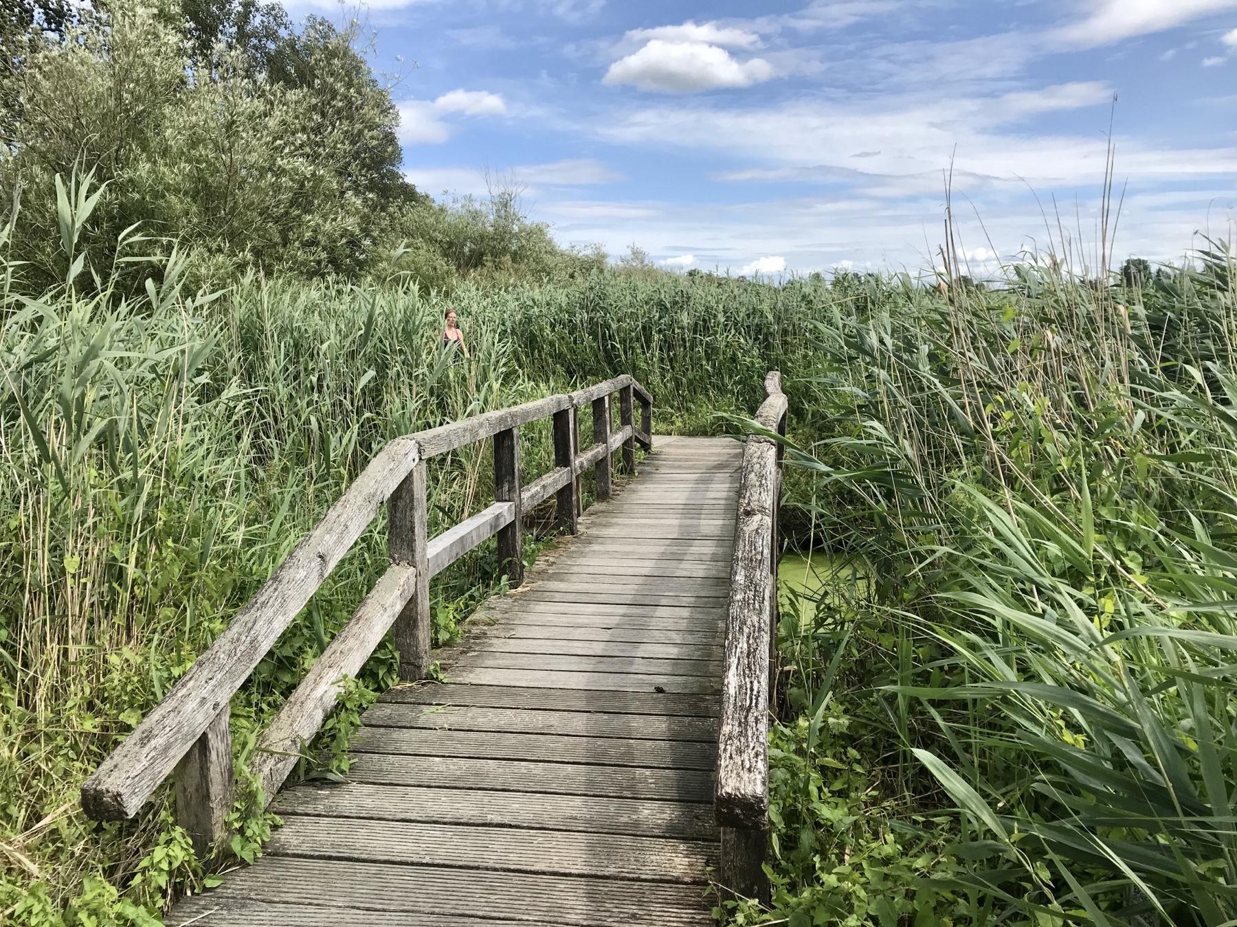 Brücke über die Trave, Stormarnweg nach Bad Oldesloe