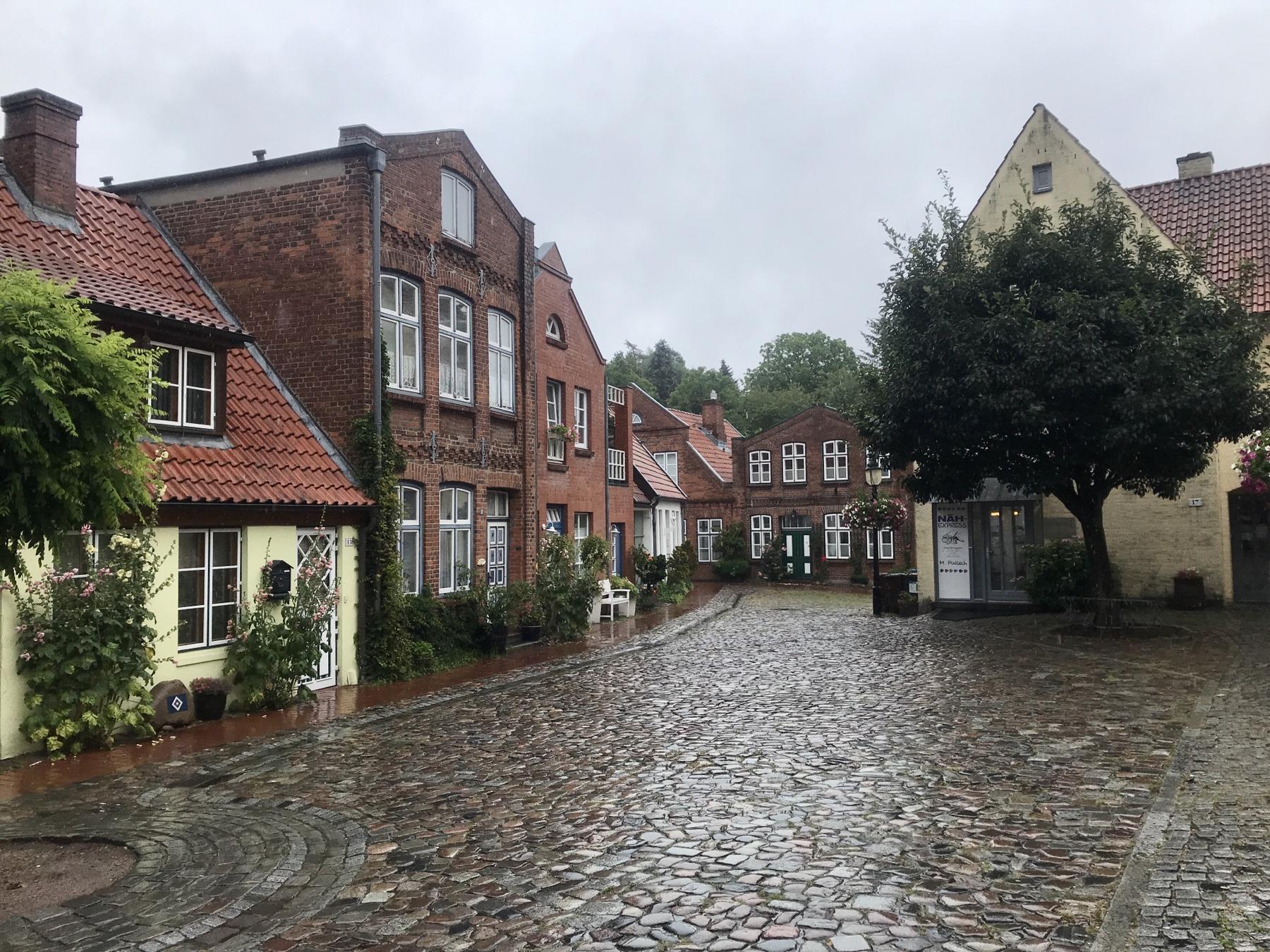 Heiligen-Geist-Viertel in Bad Oldesloe, Stormarnweg Etappe 5 nach Reinfeld