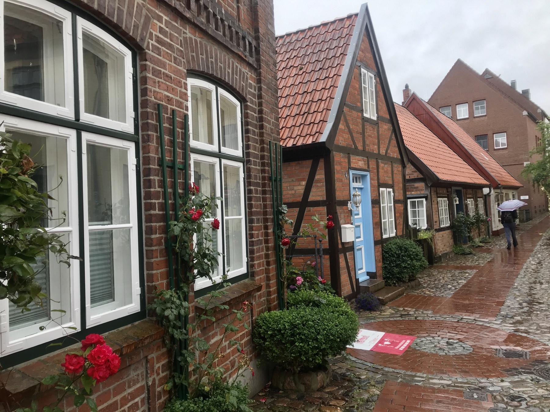 Heiligen Geist Viertel in Bad Oldesloe, Stormarnweg Etappe 5 nach Reinfeld