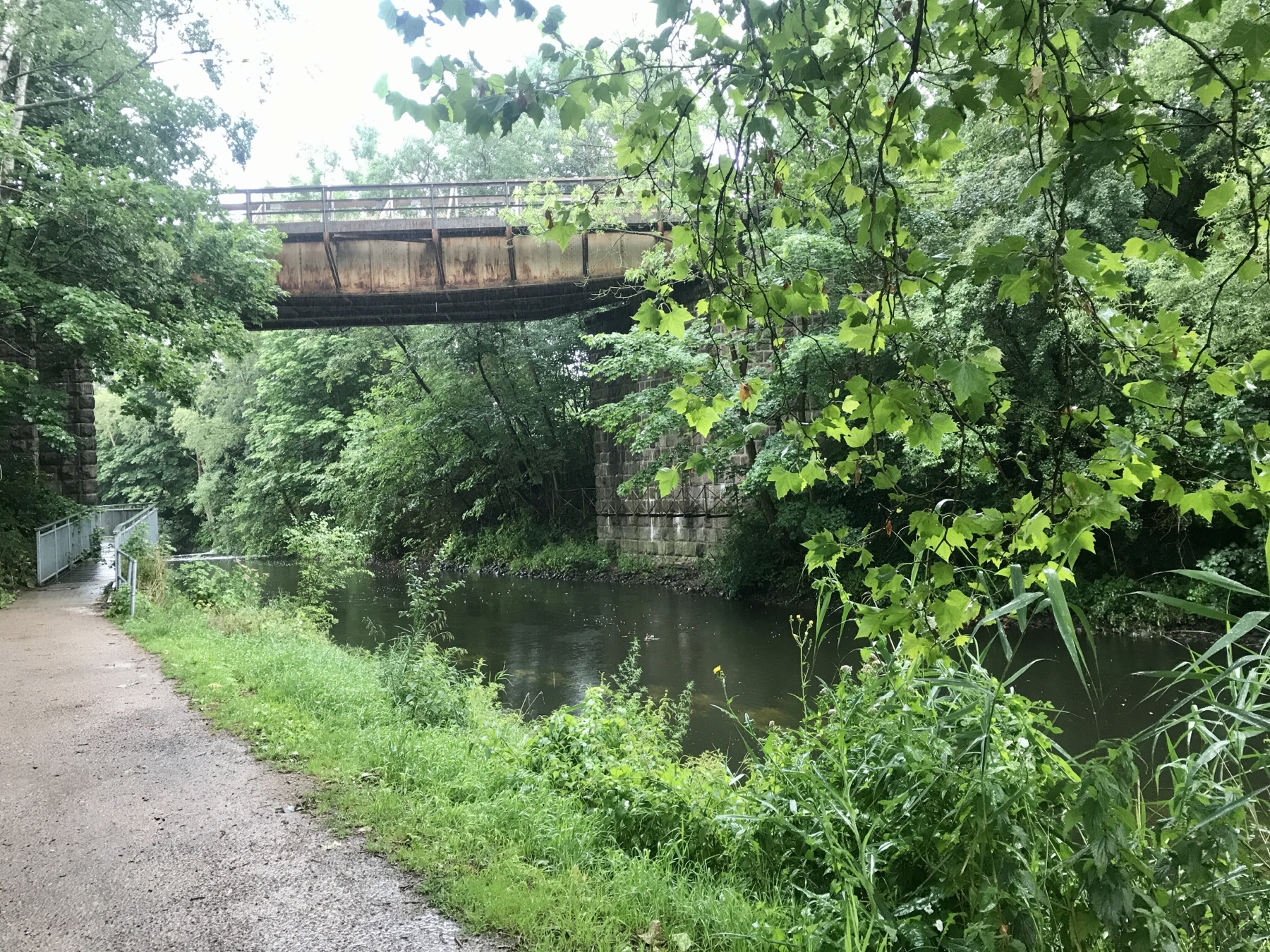 Eisenbahnbrücke Stormarnweg Bad Oldesloe nach Reinfeld