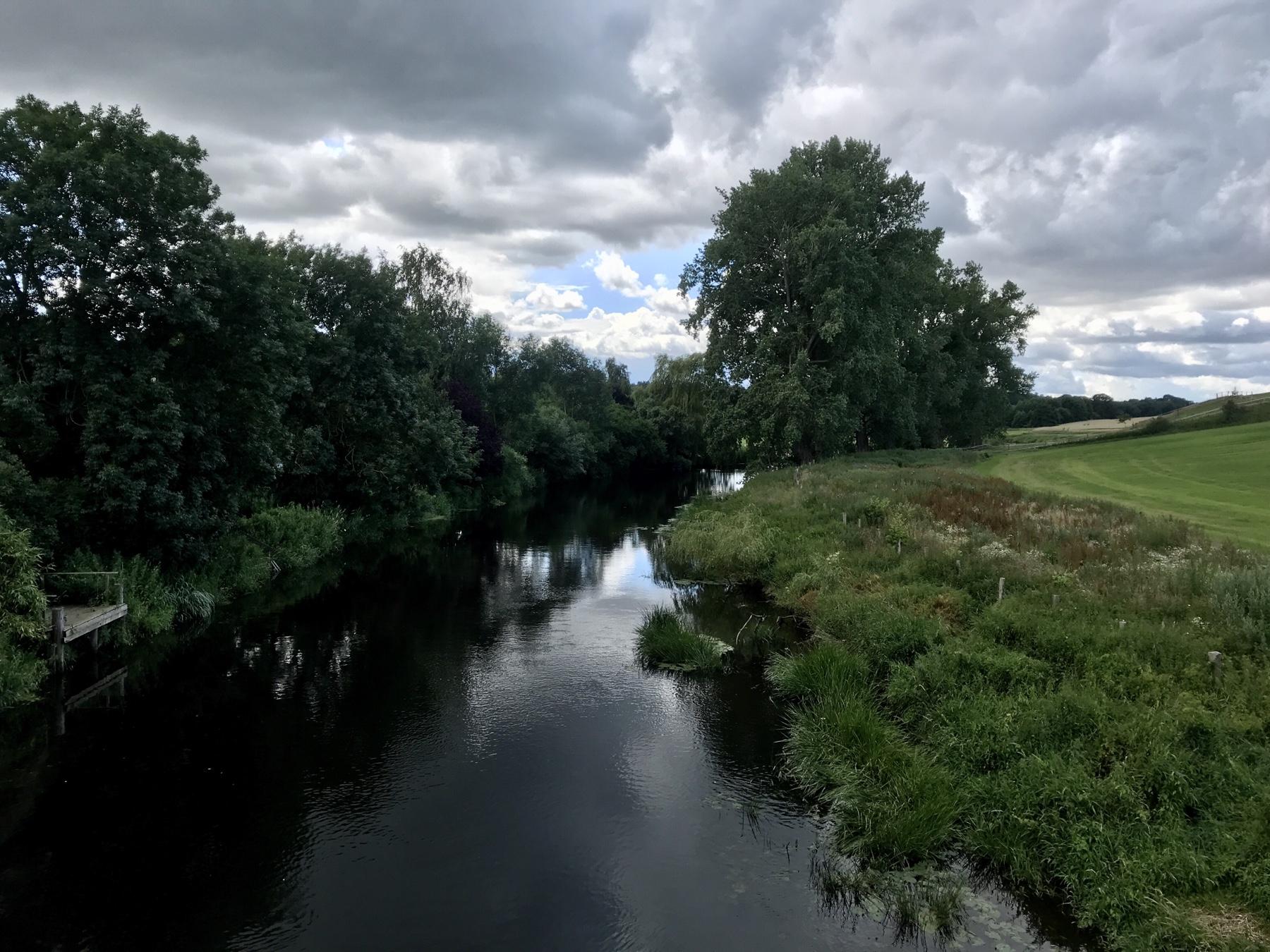 Stormarnweg nach Lübeck, Traveblick Klein Wesenberg