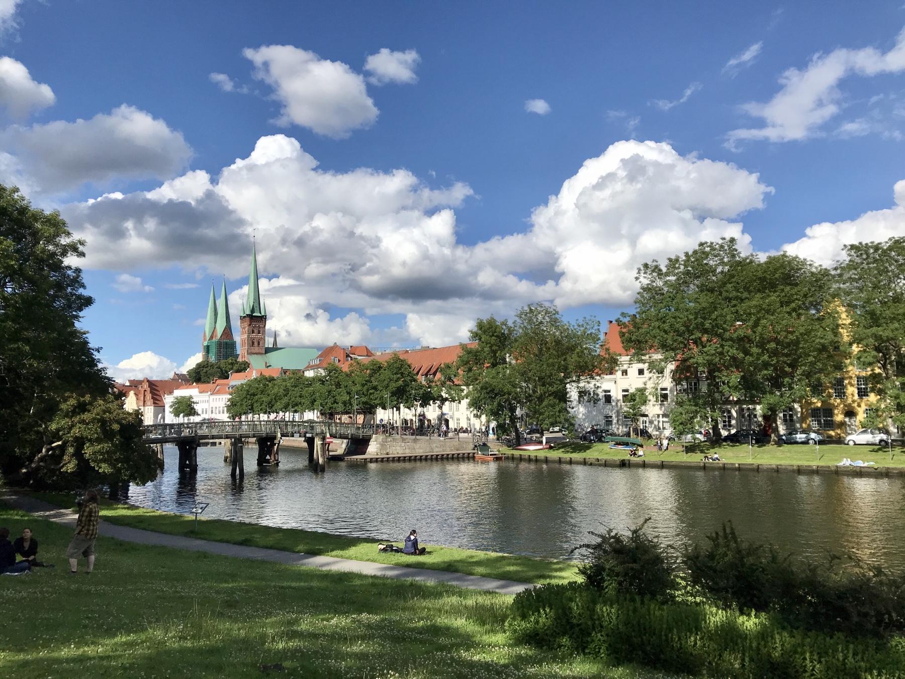Lübeck, Malerwinkel, Stormarnweg Etappe 6