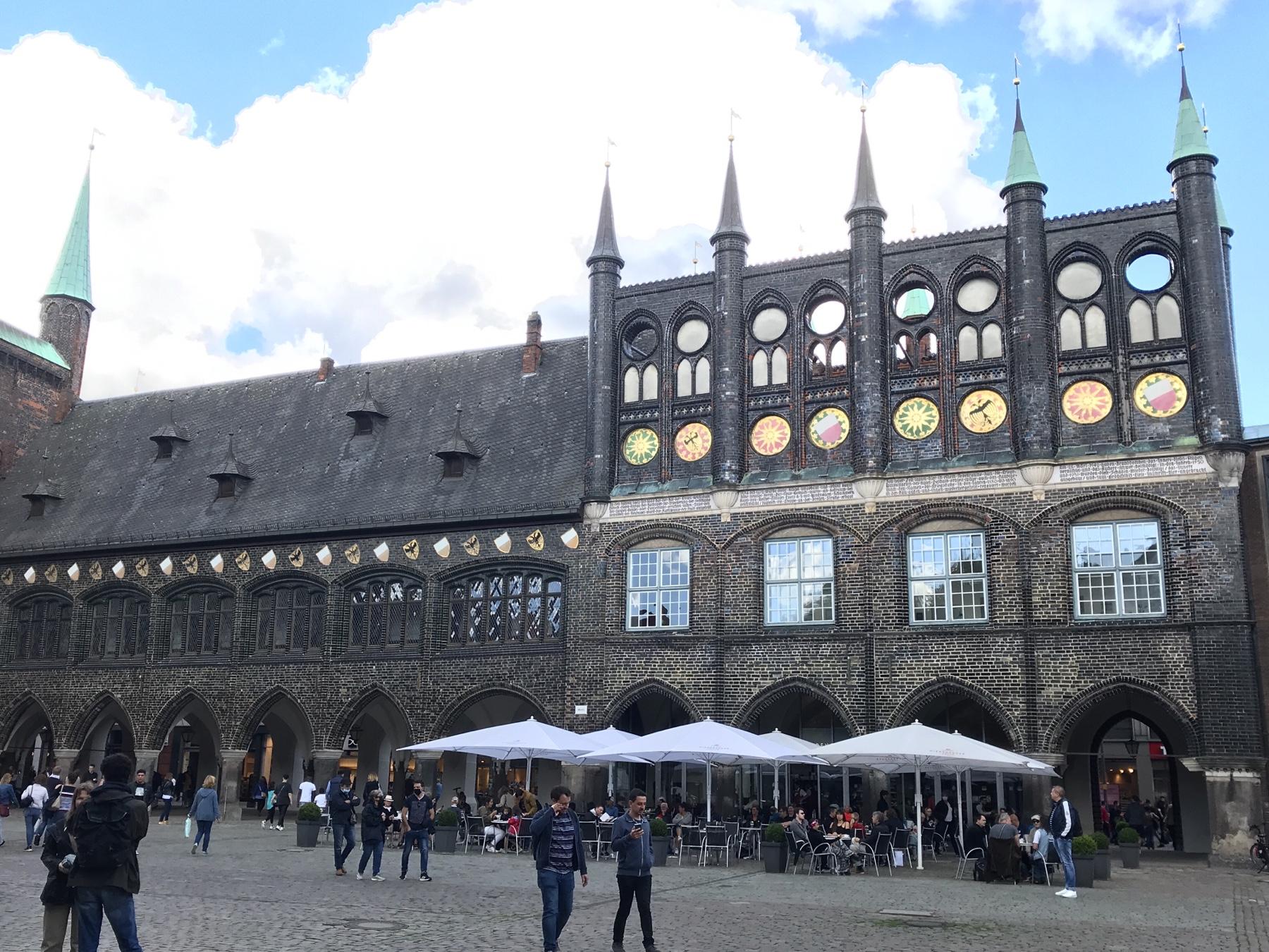 Lübecker Rathaus: Langes Haus und Neues Gemach