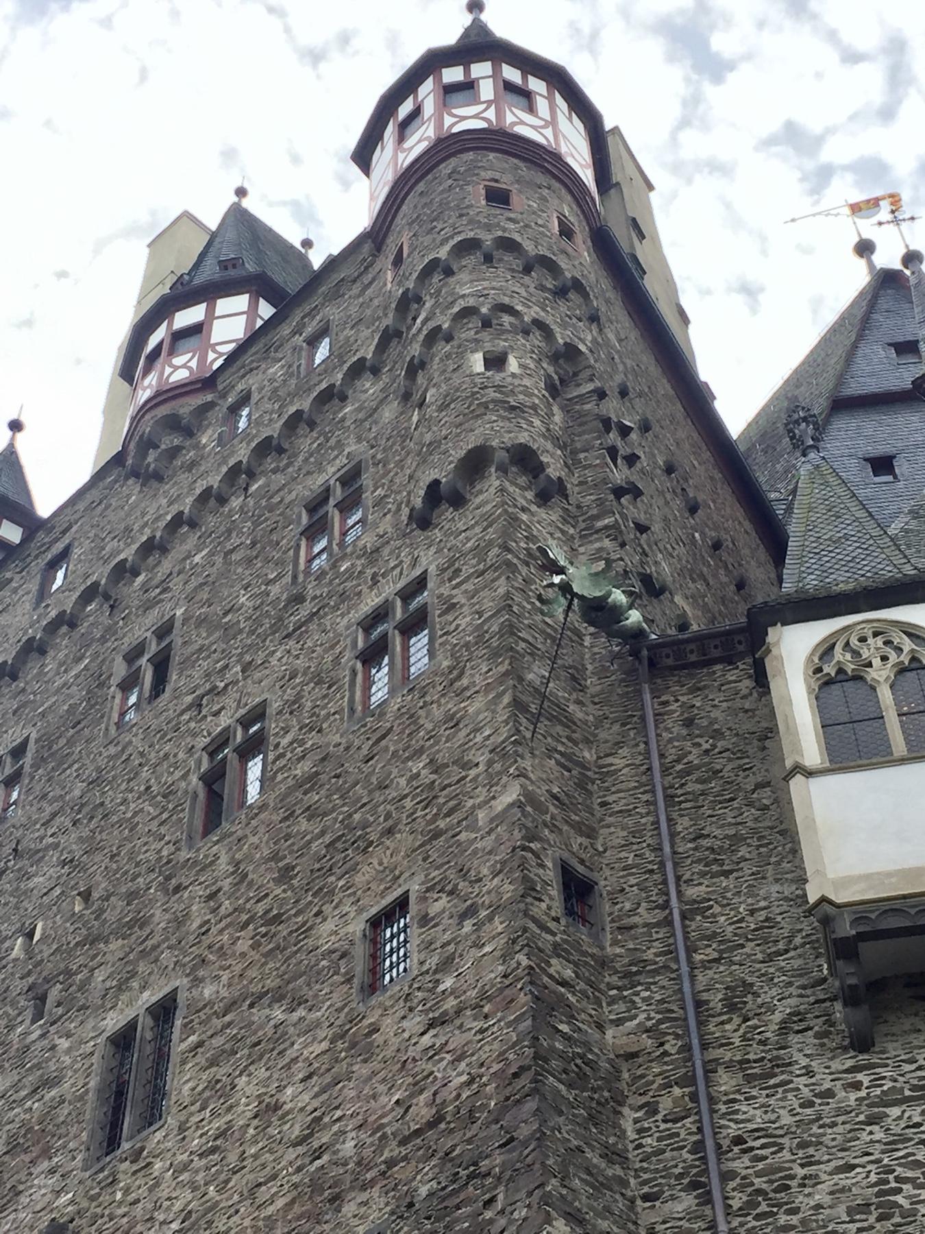 Burg Eltz, Mosel-Camino Etappe 2