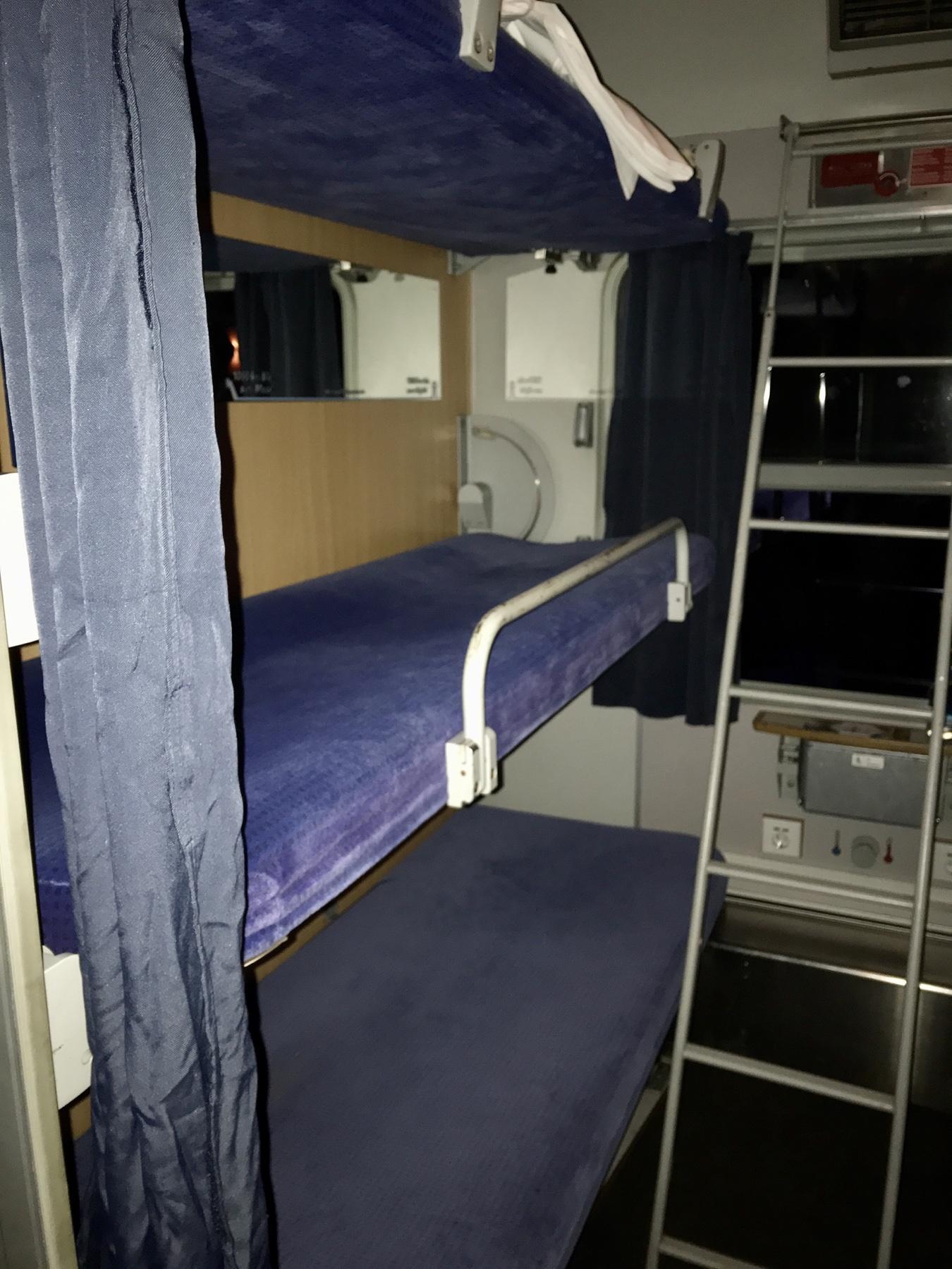 Schlafwagen im Alpen-Sylt-Express