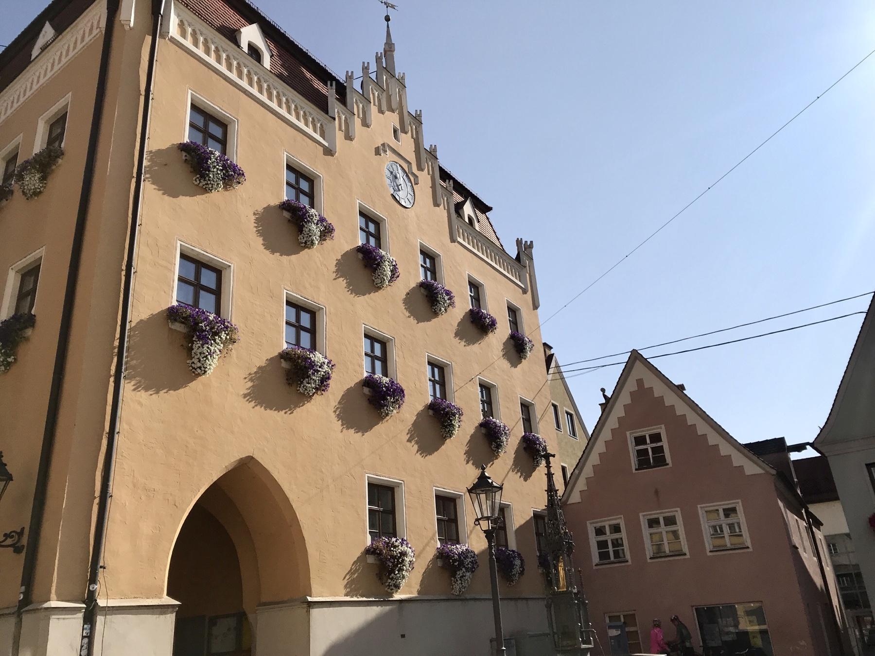 Rathaus Donauwört, Albsteig Etappe 1