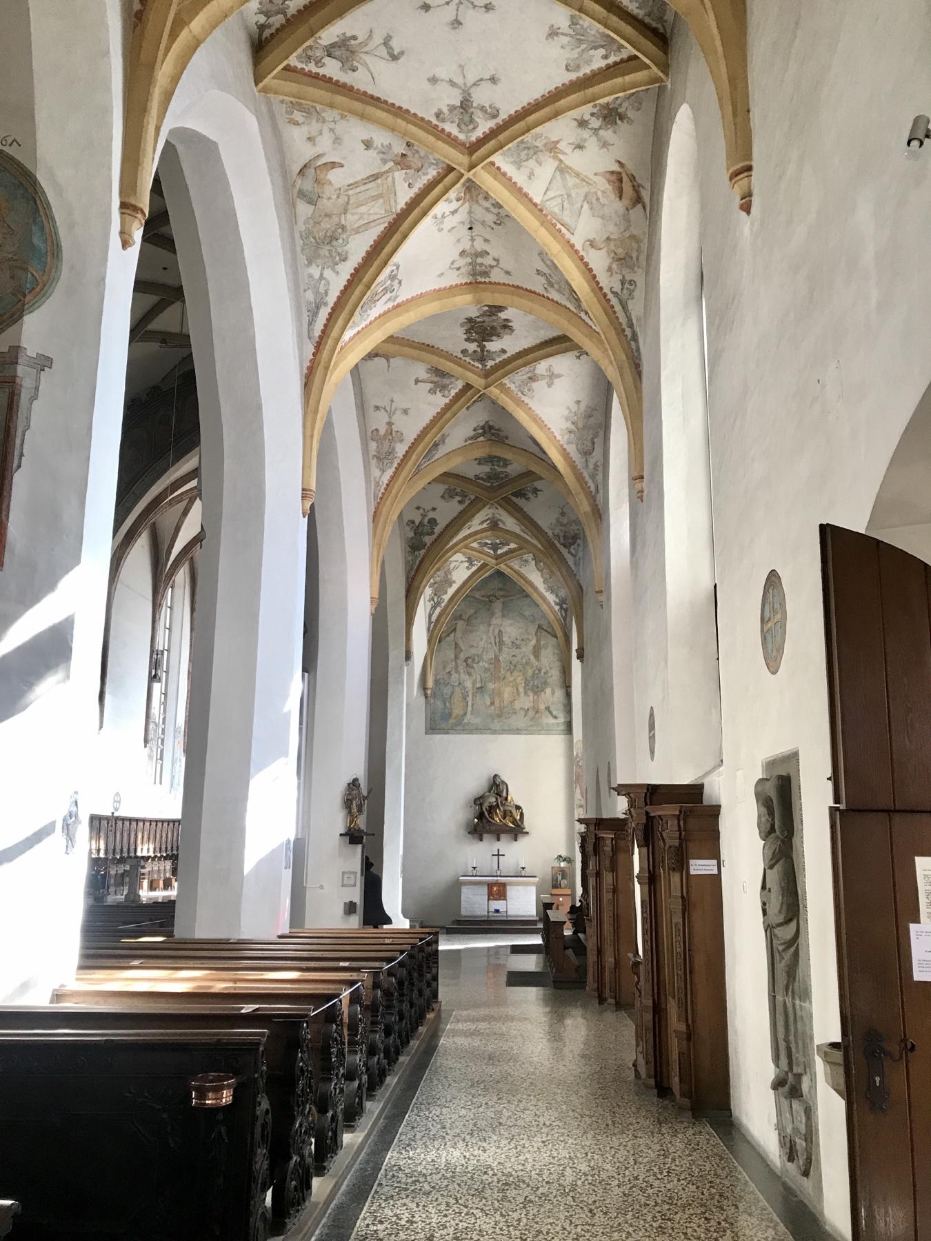 Deckenmalerei im Liebfrauenmünster Donauwörth