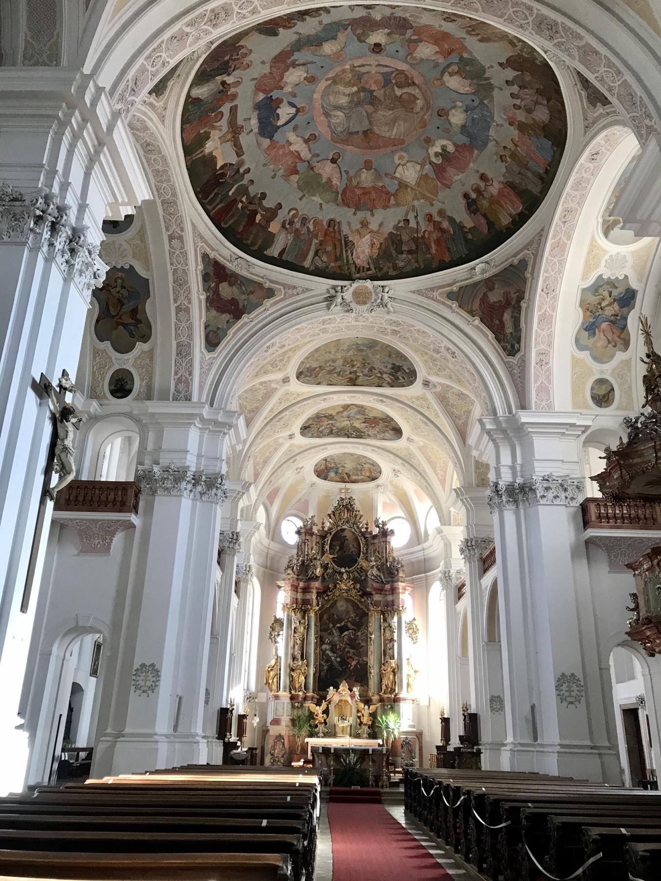 Innenraum Heilig Kreuz Kirche Donauwörth