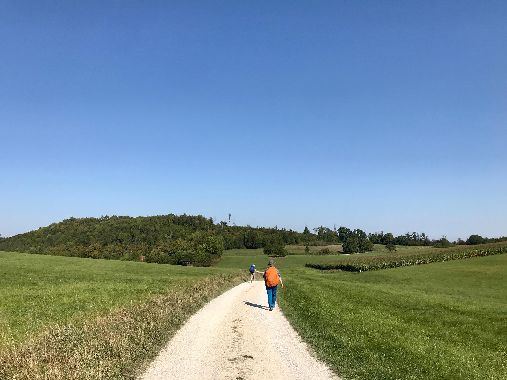 Auf dem Weg nach Christgarten, Albsteig HW1, Etappe 2