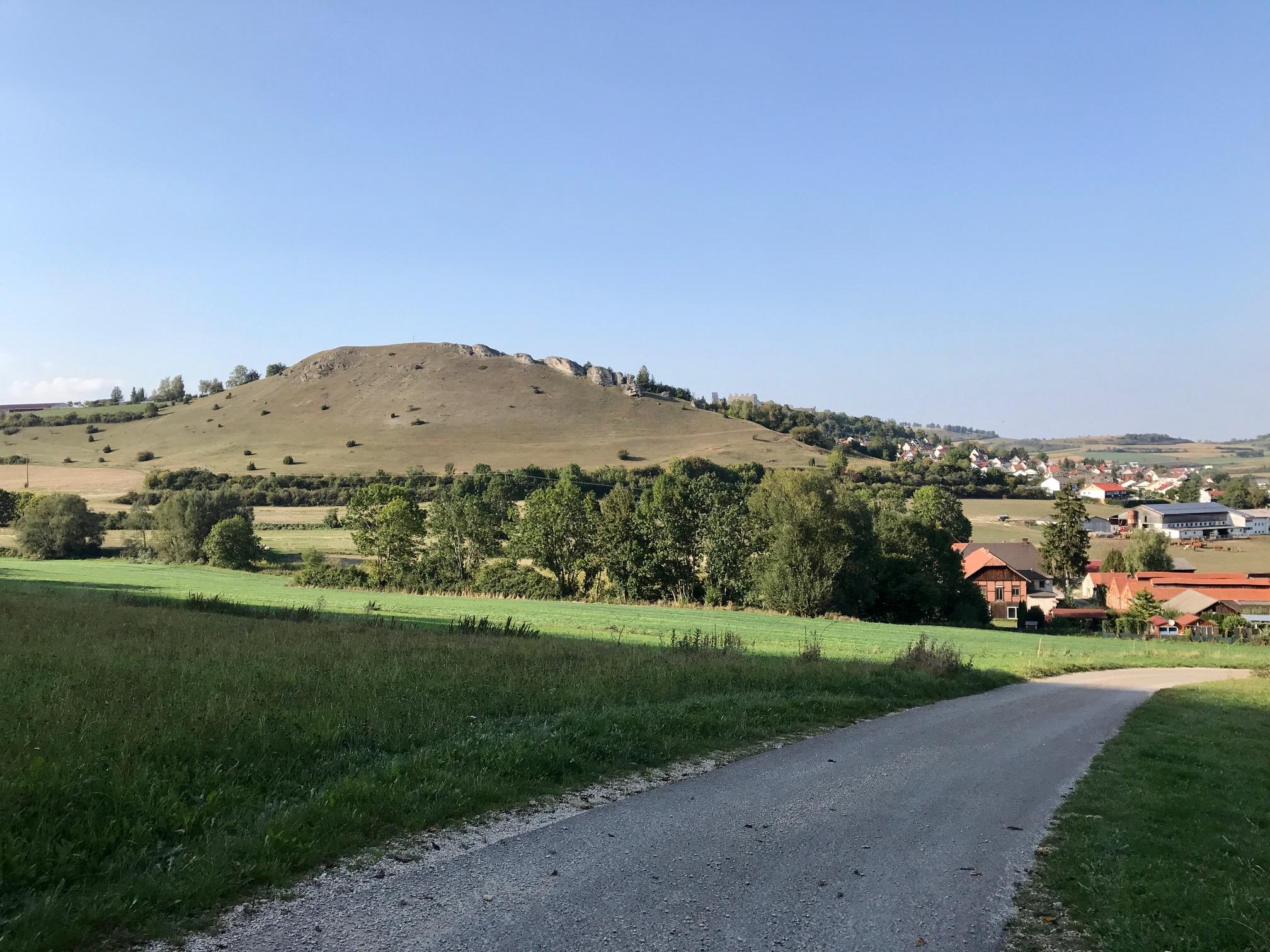 Ausblick auf den Ipf in Bopfingen