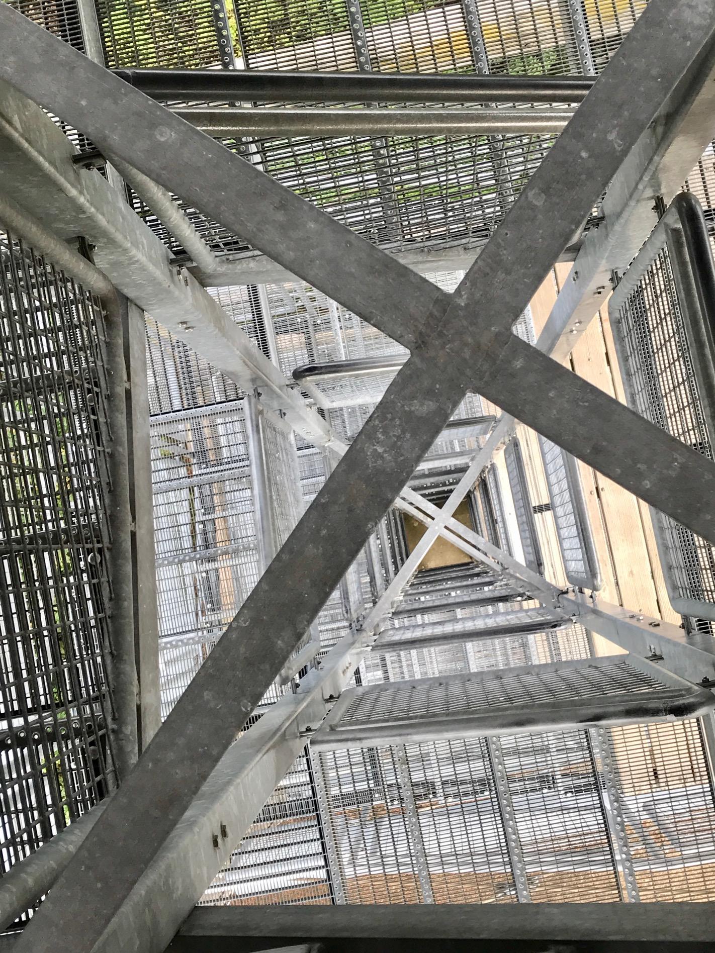 Aussichtsturm Aalbäumle am Albsteig HW1, Etappe Unterkochen Heubach